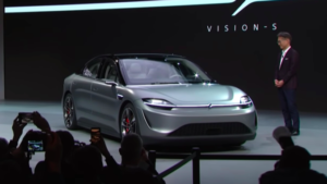 CES 2020: Sony announces electric car concept